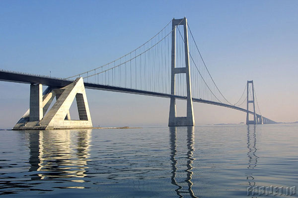 Longest-bridge-Great-Belt-Bridge