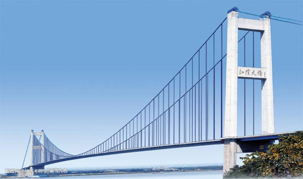 Longest-bridge-Jiangyin-Bridge