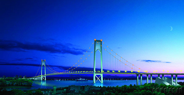 Longest-bridge-Nanjing-Fourth-Yangtze-Bridge